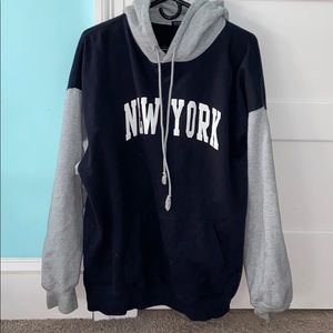 New York brandy Melville hoodie